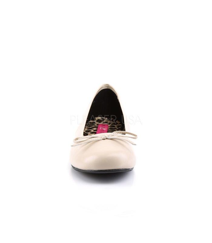 Pleaser Ballerinas Pleaser Pink Label ANNA-01 gold