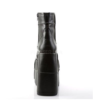 Pin Up Couture SMITTEN-05 Trendige Retro High Heel Pumps Peter Pan Marineblau/Weiß