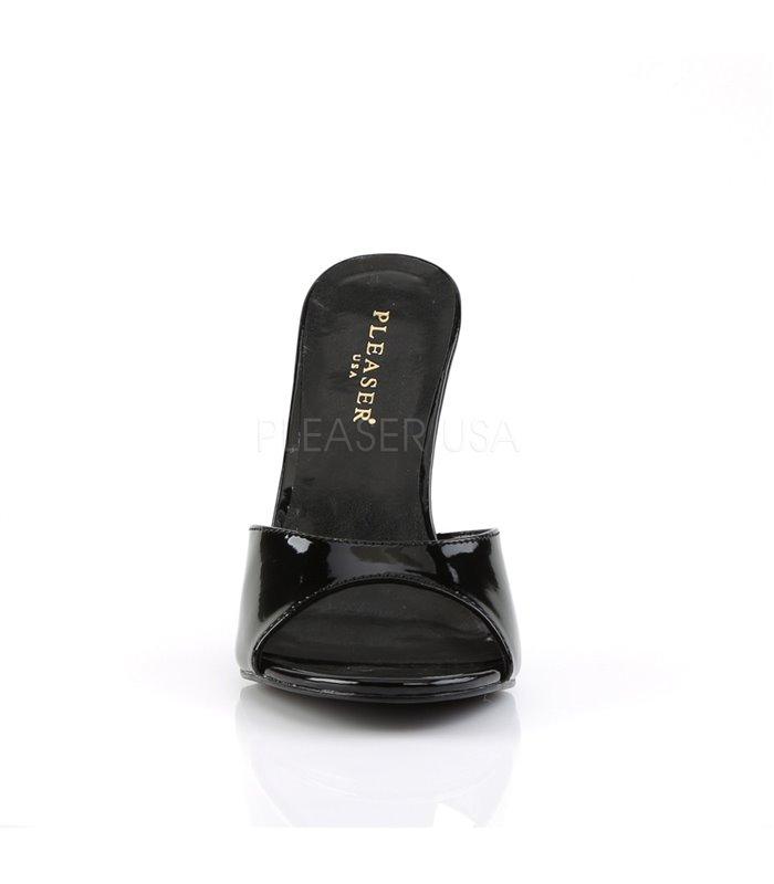 Pantolette CLASSIQUE-01 - Lack Schwarz