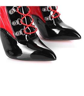 Giaro Overknee Stiefel Veruska rot schwarz