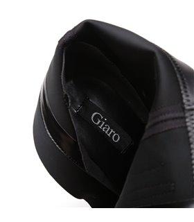 Giaro Destroyer 1003 Damen Herren Unisex Plateau Stiefel schwarz matt