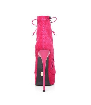 Demonia Glam-240 Lolita High Heel Stiefel Steampunk
