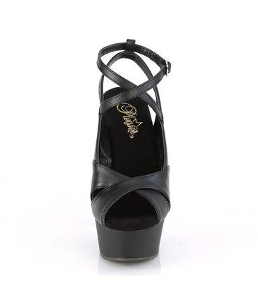Pleaser Sandaletten KISS-209 Silber SALE