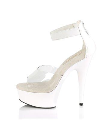 Demonia High Heels DOLLY-50 Weiss SALE