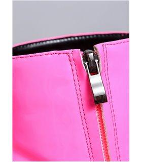 Ellie Tailor Antonia pink Ankle Boots Damen Herren Übergröße