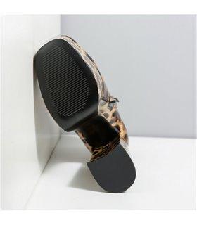 Ellie Tailor Antonia leo shiny mehrfarbig Ankle Boots Damen Herren Übergröße