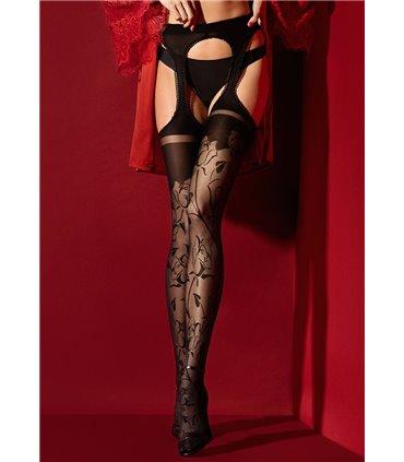 DEVIOUS BALLET-08/B Ballett-Pumps Schwarz Lack Fetisch Spitzenstand devot Gothik sexy