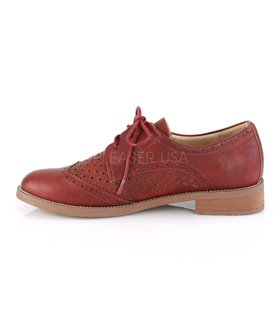 Pin Up Couture Herren Halbschuhe HEPBURN-26 rot