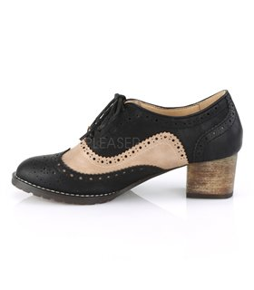 Pin Up Couture Herren Schuhe RUSSELL-34 schwarz braun