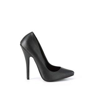 Extrem High Heels DOMINA-420 - PU Schwarz