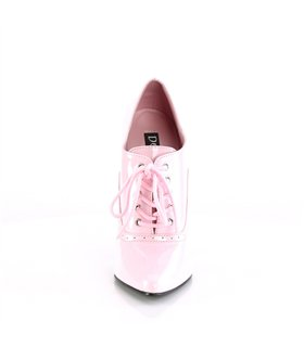 Extrem High Heels DOMINA-460 - Lack Baby Pink