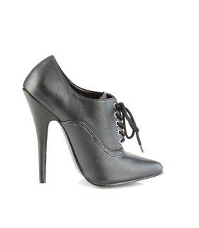 Extrem High Heels DOMINA-460 - PU Schwarz