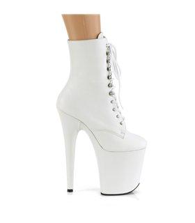 Extrem Heels  FLAMINGO-1020LWR - Leder Weiß