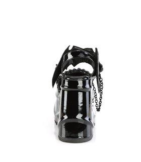Overknee Stiefel COURTLY-3012 - Lack Schwarz