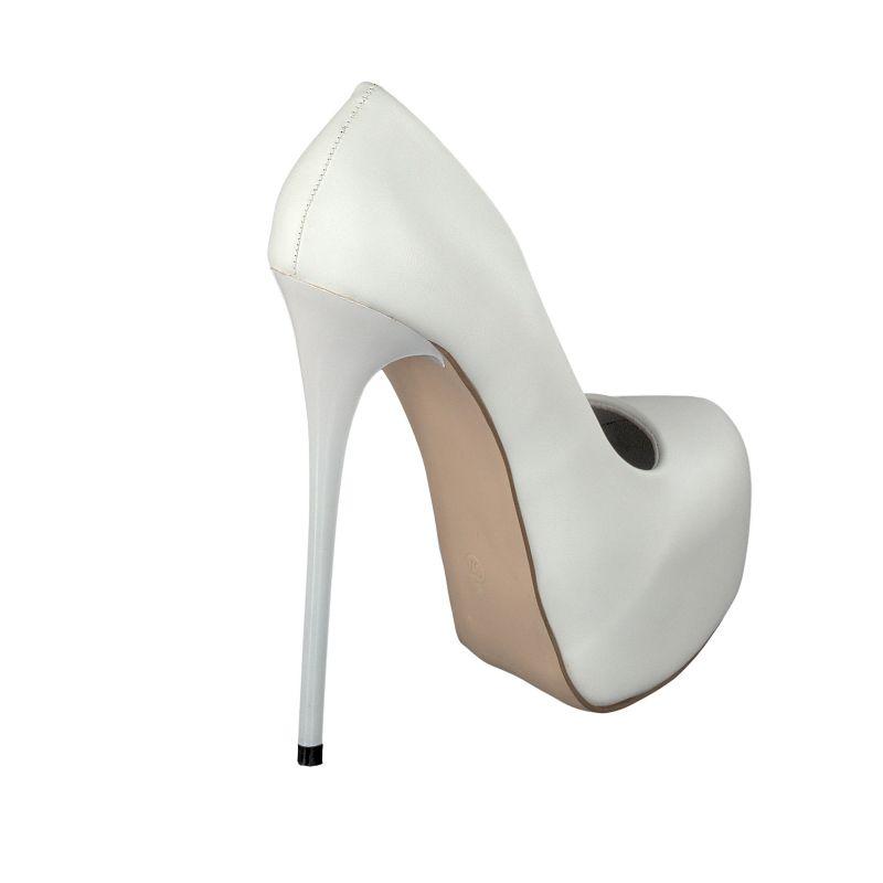 michael soul ms 1001 damen herren wei e plateau pumps high heels eu 37 eu 46 ebay. Black Bedroom Furniture Sets. Home Design Ideas